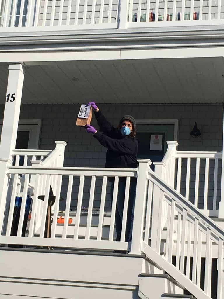 Monmouth Beach teachers get crafty to boost student morale