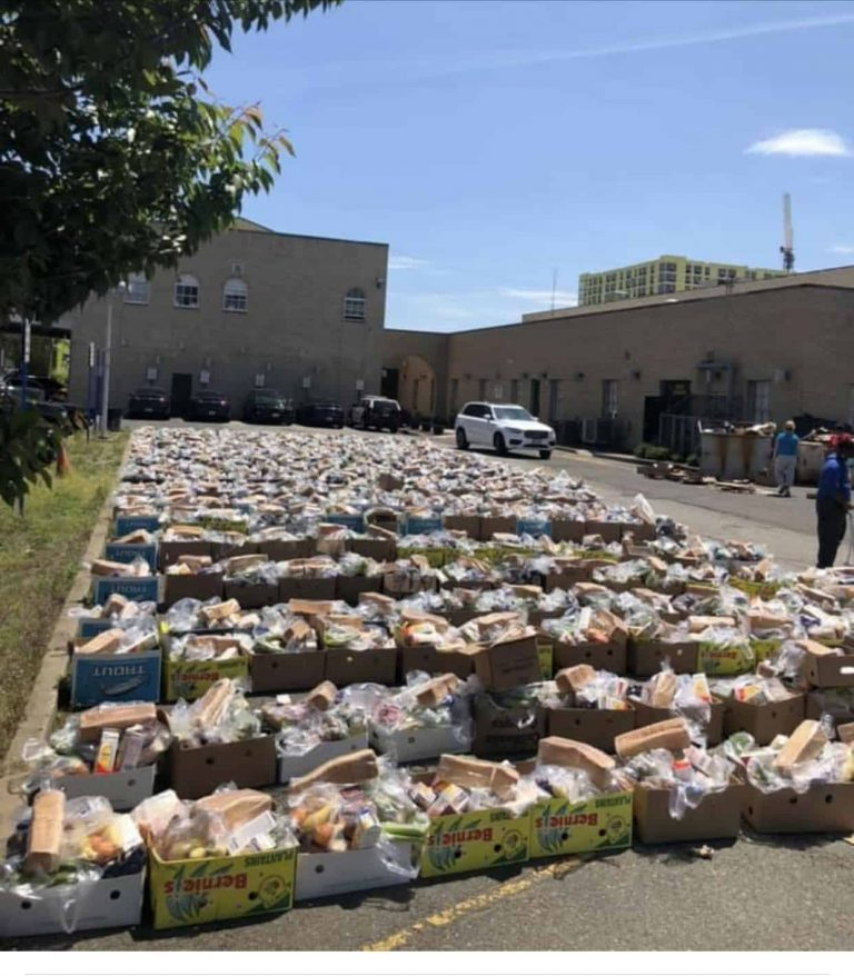 Hackensack educators help feed students, families