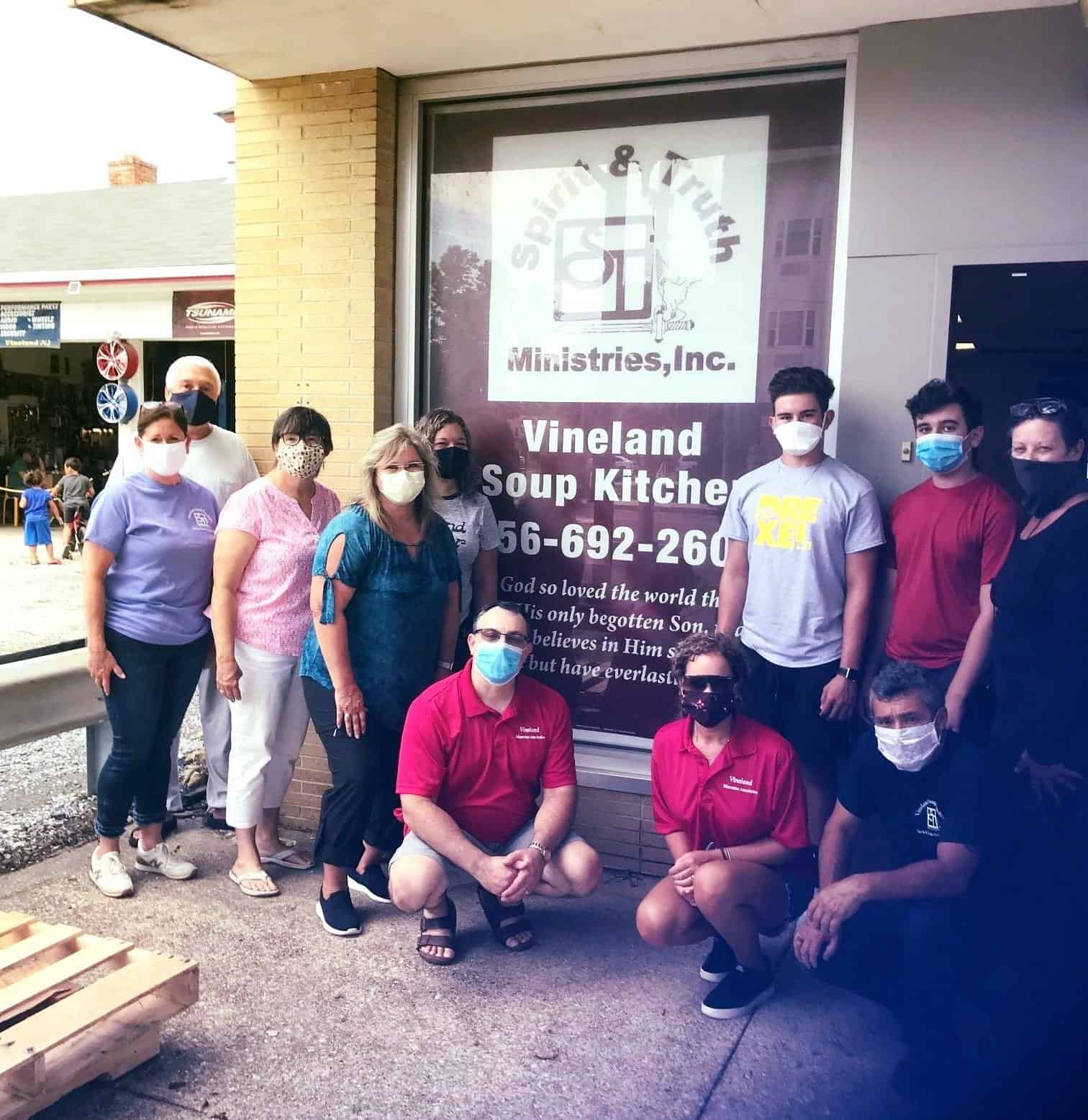 Vineland EA supports local community charity